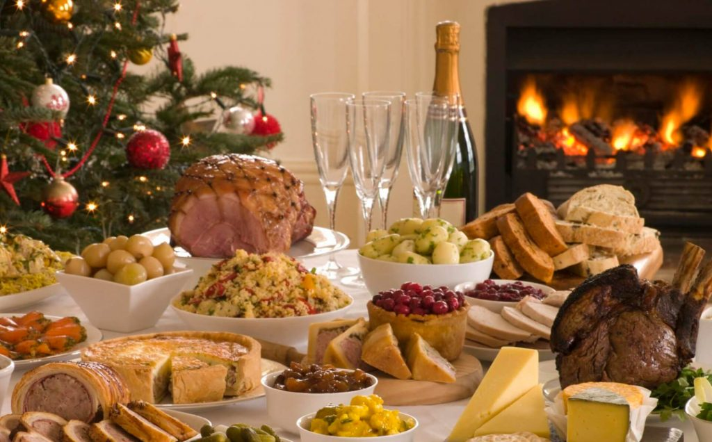 cena navideña en fiestas en restaurante A Tavola